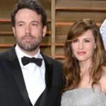 Jennifer Garner With Her Ex Husband