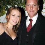 Kiefer Sutherland With Her Daughter Sarah Sutherland