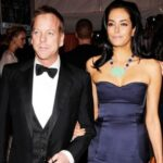 Kiefer Sutherland With Her Ex Wife Kelly Winn