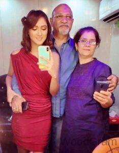 Krissann Barretto Parents