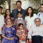 Malavika Krishna Family