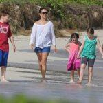 Maya Rudolph With Her Children