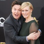 Mike Myers With His Wife Kelly