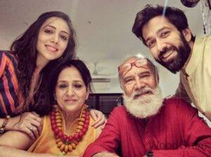 Nakuul Mehta Father and Mother