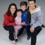 Nancy Kerrigan With Her Kids