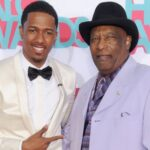 Nick Cannon With His Father