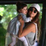 Penelope Cruz With Her Daughter