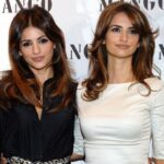 Penelope Cruz With Her Sister