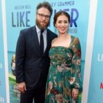 Seth Rogen With His Wife