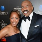 Steve Harvey with His Ex Wife
