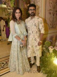 Upasana Kamineni with Ram Charan