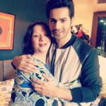 Varun Dhawan Mother