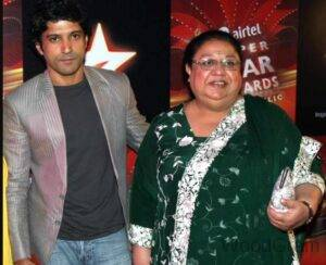 Farhan Akhtar Mother