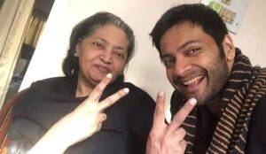 Ali Fazal Mother