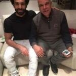 Mohamed Salah With His Father