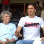 Zlatan Ibrahimović With His Mother