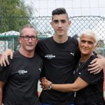 Antoine Griezmann With His Parents