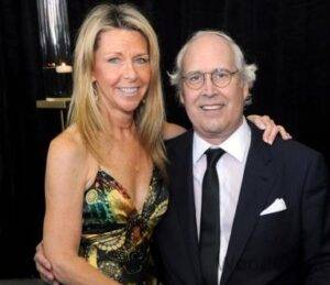 Chevy Chase with Wife Jayni Chase