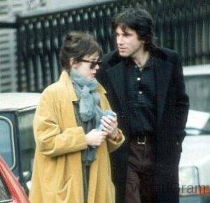 Daniel Day-Lewis with former girlfriend Isabelle Adjani