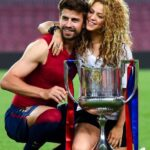 Gerard Pique With His Girlfriend Shakira