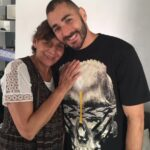 Karim Benzema With His Mother