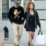 Karim Benzema With His Wife