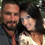Olivier Giroud With His Wife