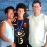 Philippe Coutinho With His Parents