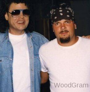 Ronnie Milsap with son Todd