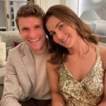 Thomas Müller With His Wife