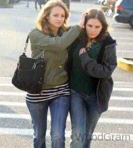Amanda Knox with her sister Deanna Knox