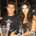 Dele Alli With His Girlfriend Ruby Mae