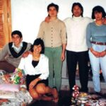 Gianluigi Buffon Young Age Image With His Parents And Sisters