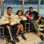 Hulk (Footballer) With His Children