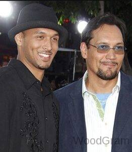 Jimmy Smits with his son Joaquin Smits