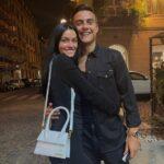 Paulo Dybala With His Girlfriend