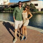 Robert Lewandowski With His Wife
