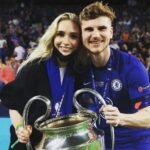 Timo Werner With His Girlfriend